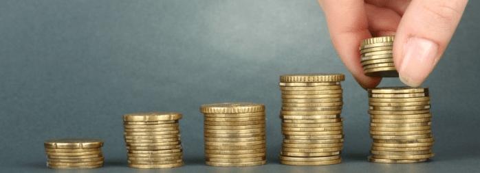 incremento de dinero